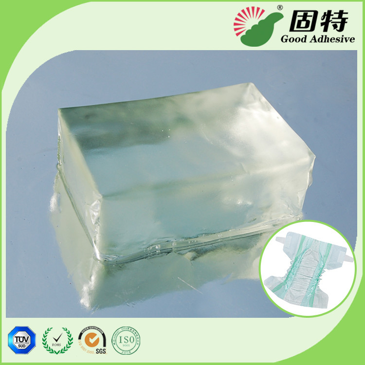 Baby Diaper Hot Glue Adhesive , Pressure Sensitive Hot Melt Adhesive