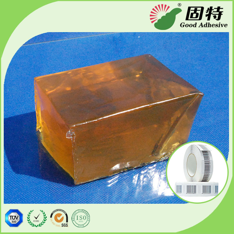 Transparent  Industrial Hot Melt Glue Block Pressure Sensitive Gummed Paper