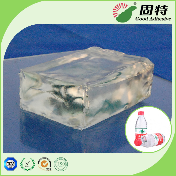 Plastic Sticker Labels Industrial Hot Melt Glue , Synthetic Polymer Resin Hot Melt Glue