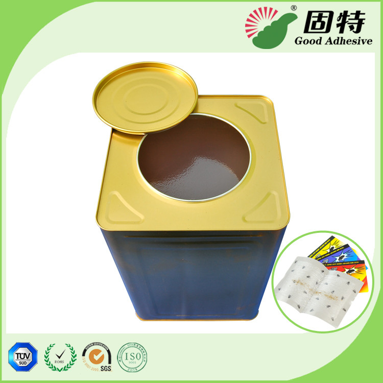 Yellowish Industrial Hot Melt Glue Rubber Solids For Fly Paper Trapmaking Fly Paper (Color Ribbon), Fly board and paper