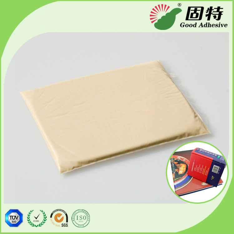 Rice white solid solid gums Animal Jelly Pressure Sensitive Hot Melt Adhesive For clothbound edition and advanced notebo