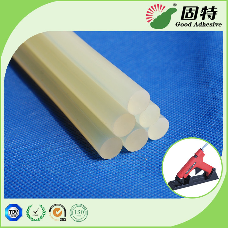 EVA resin Light and semi-transparent 11mm Stick-like solid  Hot Melt Glue Sticks For Plastic Pressure Sensitive Based