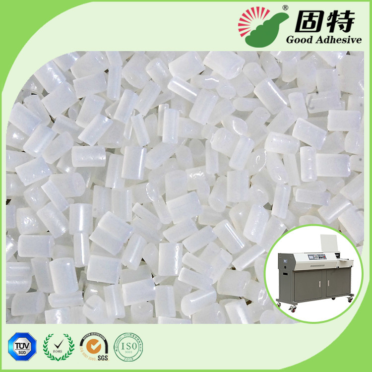 Yellowish Bookbinding Side Spine Hot Melt Pellets / EVA Hot Melt Adhesive