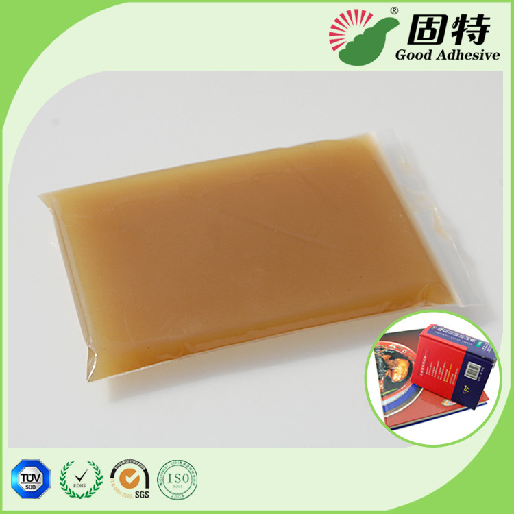 High Viscosity Amber Animal Jelly Glue For Automatic Case Maker