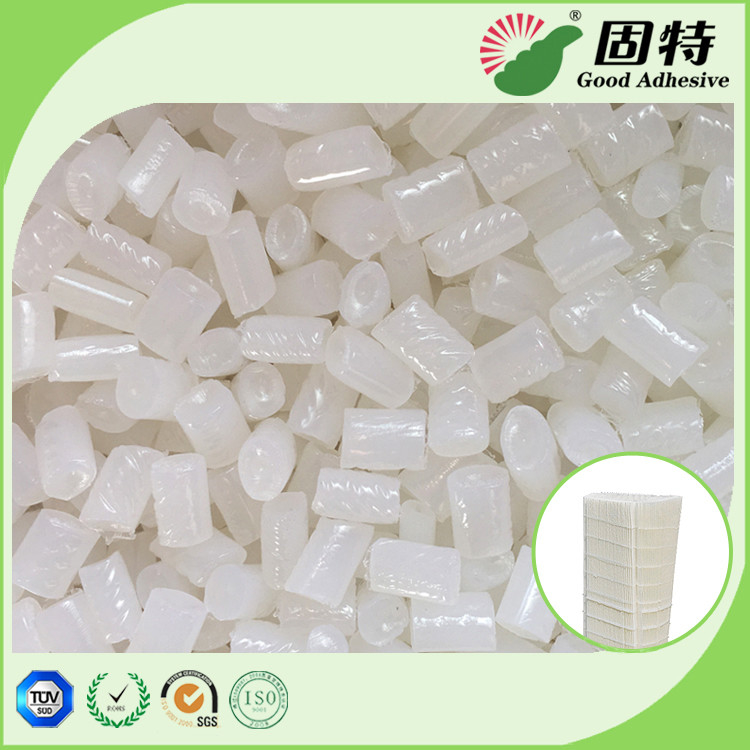 EVA Yellow Hot Melt Pellets Excellent Flowability For Close - Pleat Air Filter