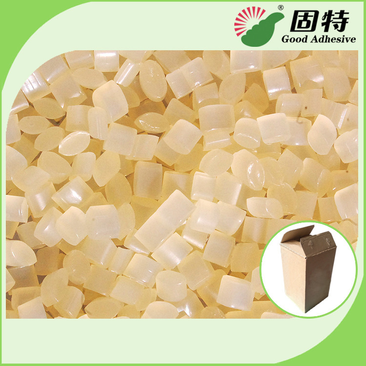 Yellow Carton Sealing Closing Paper Hot Melt Pellets EVA Hot Melt Glue Adhesive  Nordson Hot Melt Adhesive