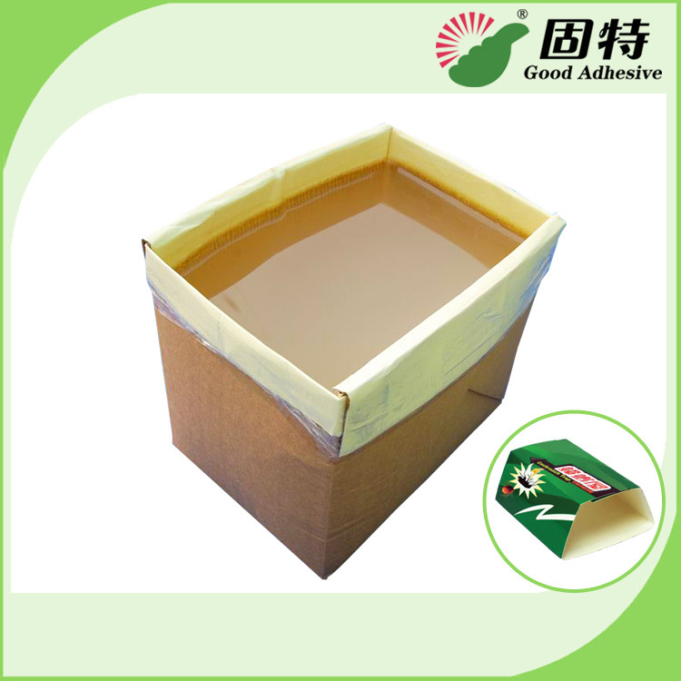 Yellow Hot Melt Pressure Sensitive Adhesive , Adhesive Hot Melt For Pantry Pest Trap