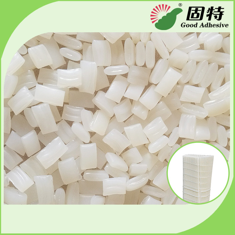 Colorless Granule EVA And Viscosity Resin Hot Melt Glue Adhesive YD-5K Is An APAO Based