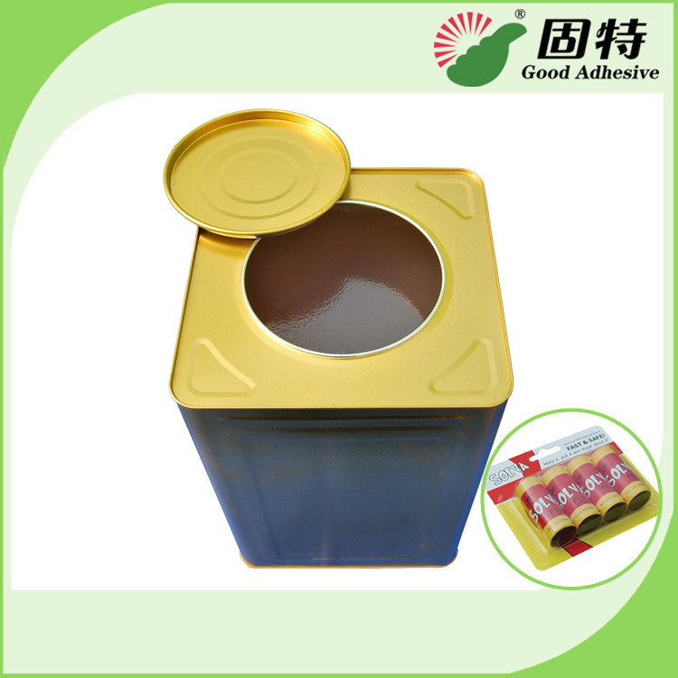 Fly Paper Hot Melt Adhesive Glue , Yellow Semi Transparent Hot Glue Adhesive