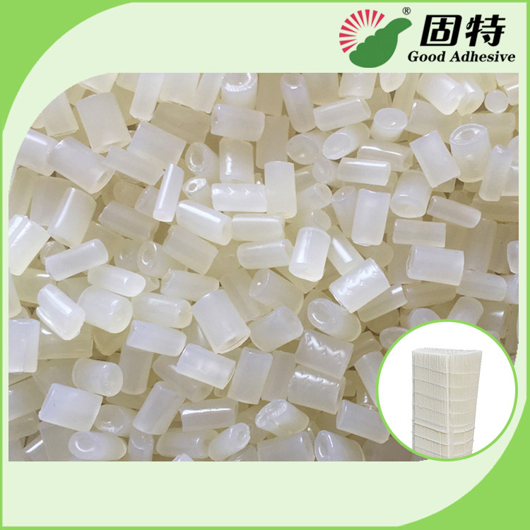 Granule Semi White Transparent  EVA Resin For Air Filter , Especially For Forming And Bonding Of Filter Elements