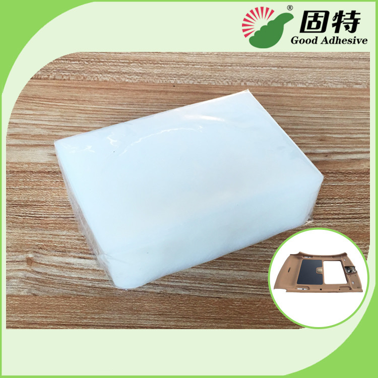 Less Odor Less VOCs Odor Class 2.5 Hot Melt Adhesive For Bonding Of Car Roof Attachment And PP/PE Attachmen