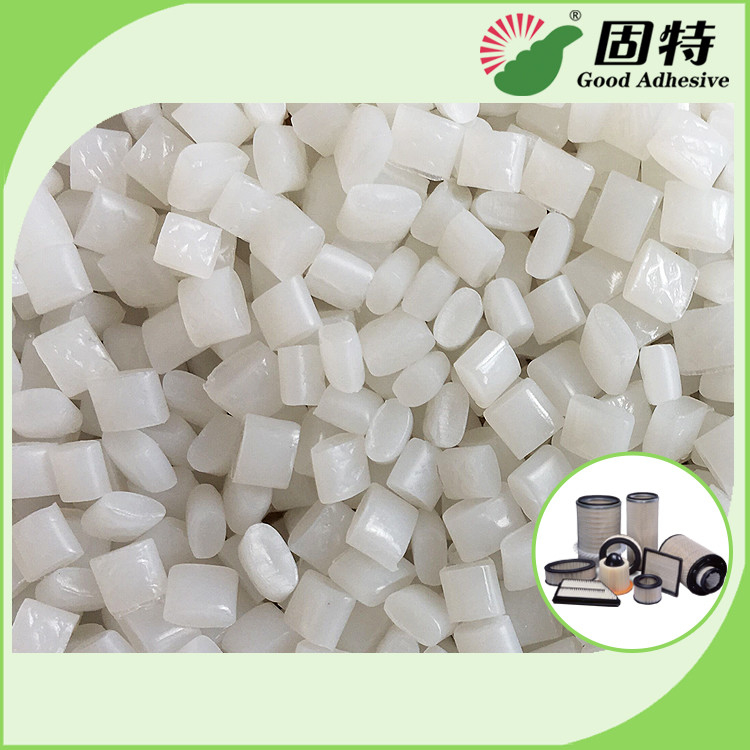 Colorless Granule Hot Melt Glue Adhesive EVA And Viscosity Resin YD - 5K